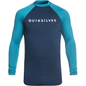 Quiksilver Always There Jersey manga larga Hombre, medieval blue